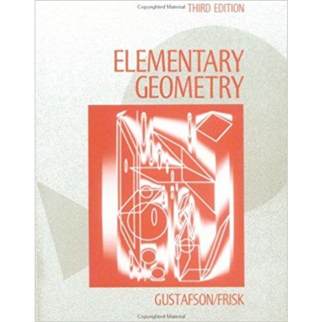 USED || GUSTAFSON / ELEMENTARY GEOMETRY