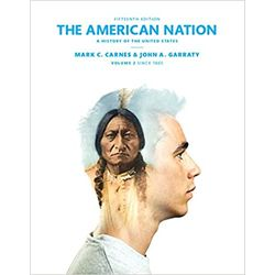 USED(PURCHASE) || CARNES / AMERICAN NATION V-2 15TH ED LL