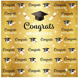 6x6 Congratulation Backdrop