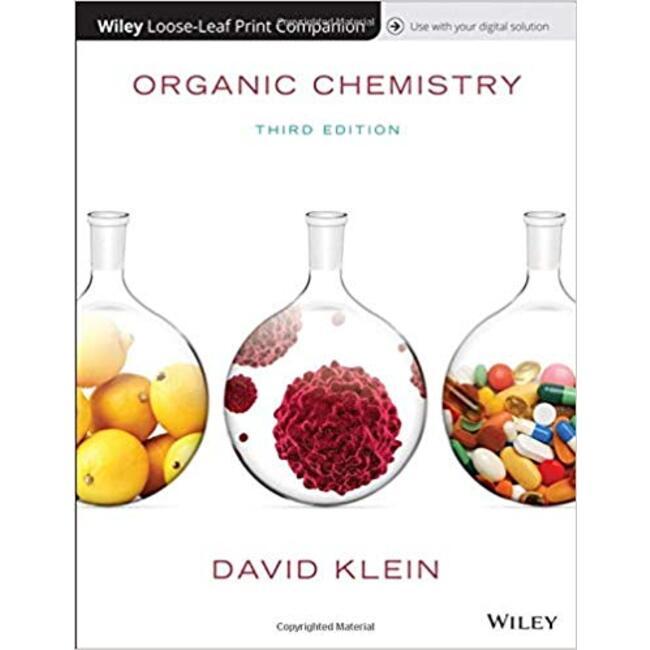 USED || KLEIN / ORGANIC CHEMISTRY 3RD