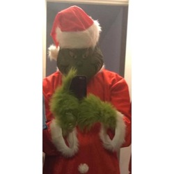 Dr. Seuss Santa Grinch