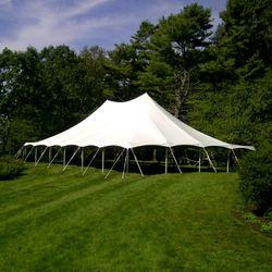 Pole Tent 40x60 White