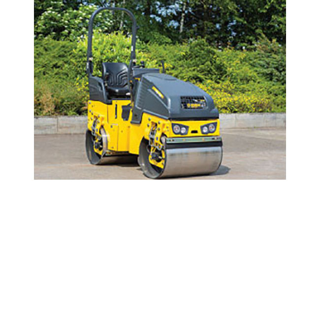 BOMAG BW90AD-2 Vibratory Smooth Double Drum Roller, 1.5 ton, 35.4