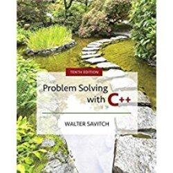 USED || SAVITCH / PROBLEM SOLVING W/C++ (1oth)