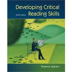 NEW || SPEARS / DEVELOPING CRITICAL READING SKILLS