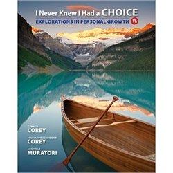NEW    COREY / I NEVER KNEW I HAD A CHOICE (11th)