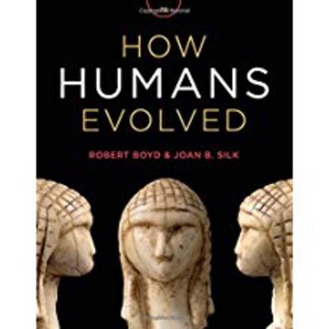 Used| BOYD / HOW HUMANS EVOLVED| Instructor: JACKSON