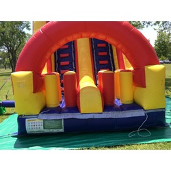 Double Lane Fun Water Slide