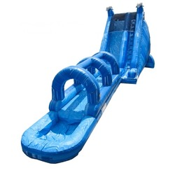 Blue Dolphin with slip n slide