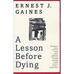 NEW || GAINES / LESSON BEFORE DYING