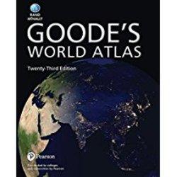 NEW || VEREGIN / GOODE'S WORLD ATLAS