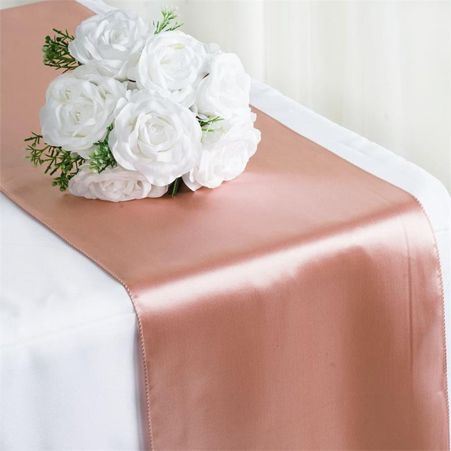 12X108 SATIN TABLE RUNNER-MAUVE