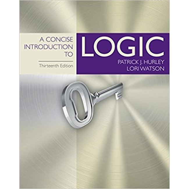 USED || HURLEY / CONCISE INTRO TO LOGIC 13th HB
