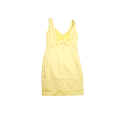 Yellow Burnch Dress