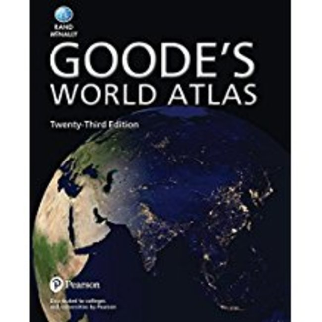 USED || VEREGIN / GOODE'S WORLD ATLAS 23RD ED