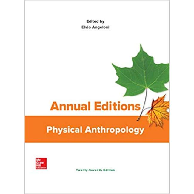 USED || ANNUAL ED / PHYSICAL ANTHRO 18/19 (ED: ANGELONI)