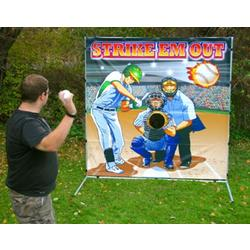 Carnival Game - Strike 'Em Out