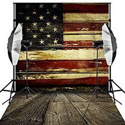 Backdrops American Flag