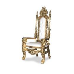 Gold/white Lion throne