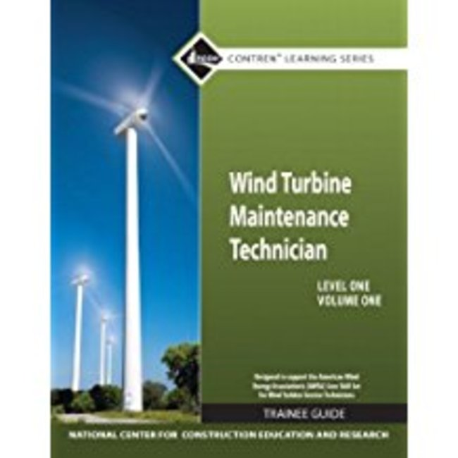 New| NCCER / WIND TURBINE MAINTENANCE TRAINEE GUIDE (V1)| Instructor: LINDY