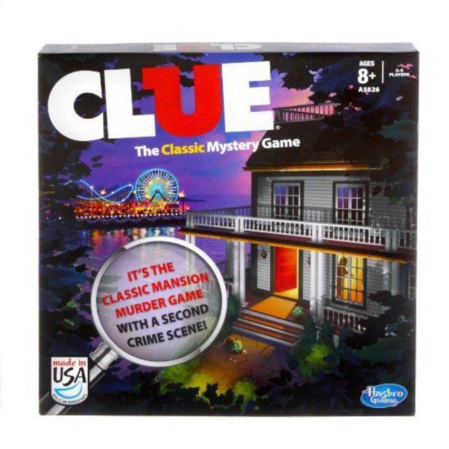 Clue Crime Scene Edition