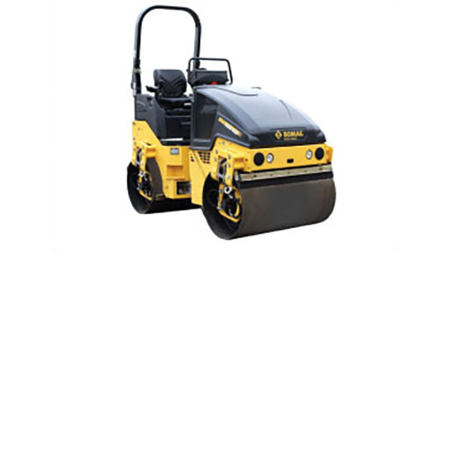 BOMAG BW120 Double Drum Vibratory Roller, 2.5 ton, 47.2
