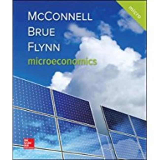 NEW || MCCONNELL / MICROECONOMICS W/S.G/CONNECT