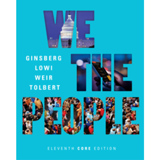 NEW || GINSBERG / WE THE PEOPLE CORE-ED W/EBK