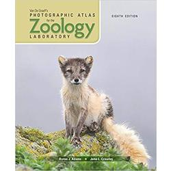 USED || ADAMS / PHOTO ATLAS FOR ZOOLOGY 8th