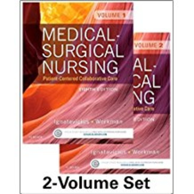 Used| IGNATAVICIUS / MEDICAL-SURG NURSING (2 VOL SET)| Instructor: PAGE