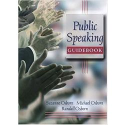 NEW || OSBORN / PUBLIC SPEAKING GUIDEBOOK
