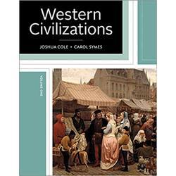 NEW || COLE / WESTERN CIVILIZATIONS VOL 1