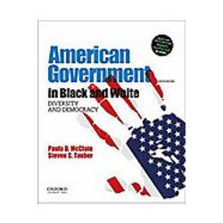 NEW || MCCLAIN / AMERICAN GOVERNMENT IN BLACK & WHITE 4th