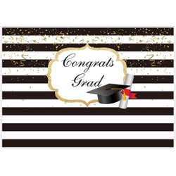 7X5FT Graduation Party Backdrop