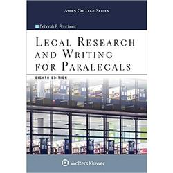 USED || BOUCHOUX / LEGAL RESEARCH & WRTNG FOR PARALGALS 8TH