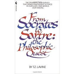 NEW    LAVINE / FROM SOCRATES TO SARTRE