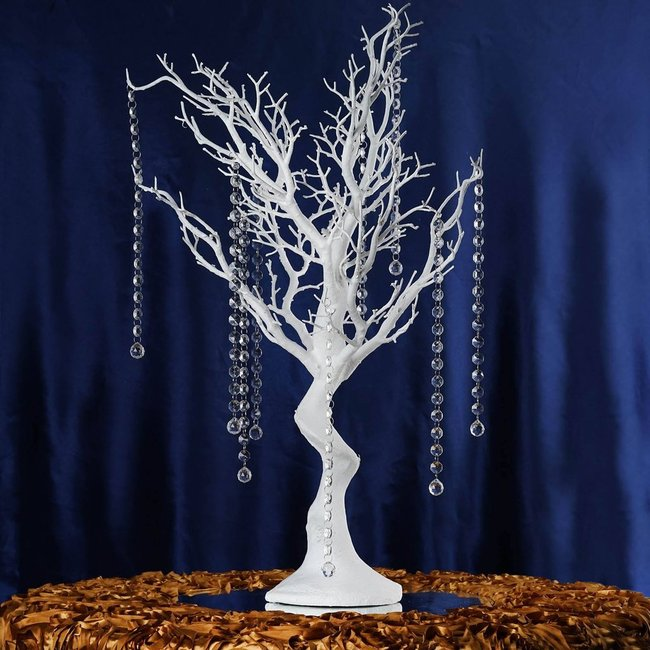 30'' MANZANITA TREE- WHITE