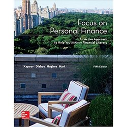 USED || KAPOOR / FOCUS ON PERS FINANCE 5th (LL)
