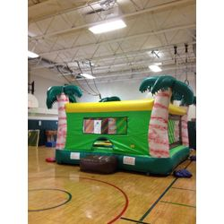 dunk tank bounce house