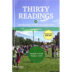 USED (RHC) || GOULD / THIRTY READINGS INTRO SOC