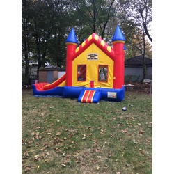 15 x 22 combo bouncy castle