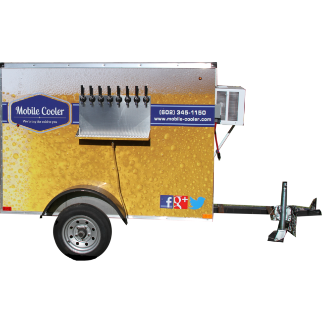 4' x 6' Beer Wagon
