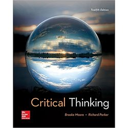 NEW || MOORE / CRITICAL THINKING 12th (LOOSE-LEAF)