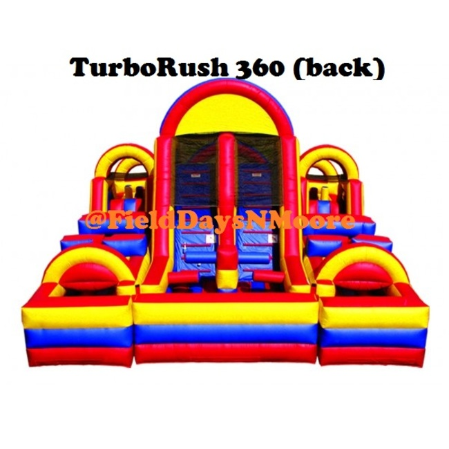 TurboRush 360 Obstacle Course