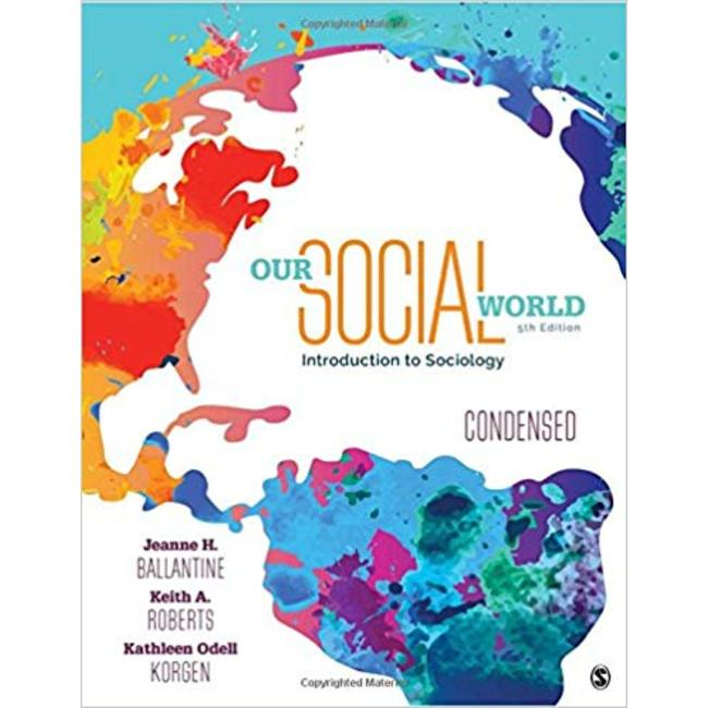 USED || BALLANTINE / OUR SOCIAL WORLD CONDENSED VERSION
