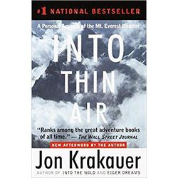 NEW || KRAKAUER / INTO THIN AIR W/NEW AFTERWORD