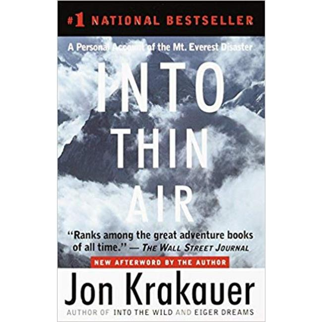 NEW    KRAKAUER / INTO THIN AIR W/NEW AFTERWORD