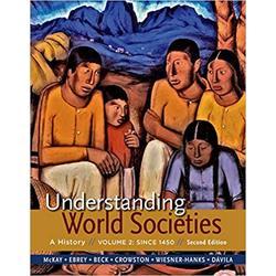 USED || MCKAY / UNDERSTANDING WORLD SOCIETIES 2nd (VOL 2)