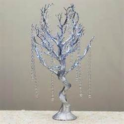 30'' MANZANITA TREE- SILVER