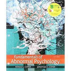 NEW || COMER / FUND OF ABNORMAL PSYCH